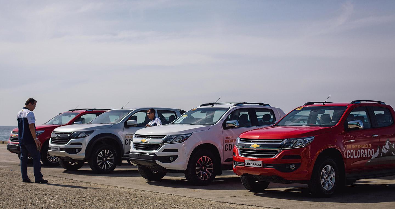 Chevrolet Colorado 2017: Động cơ khoẻ, hệ thống lái vững chắc