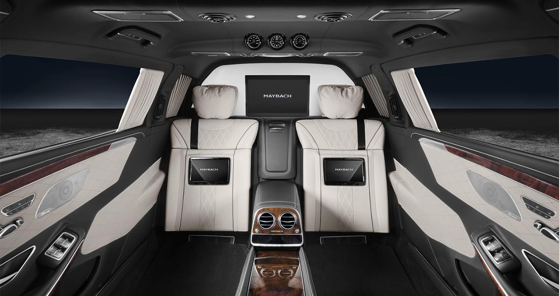 Kết quả hình ảnh cho Mercedes-Maybach S600 Pullman