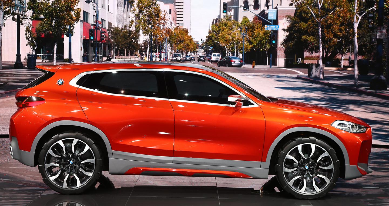 BMW X2 dạng concept được giới thiệu ở triển lãm ô tô Paris 2016