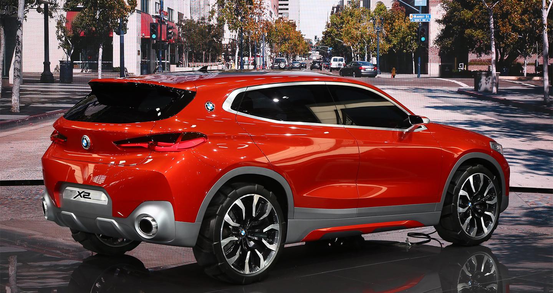 BMW X2 dạng concept được giới thiệu ở triển lãm ô tô Paris 2016 3