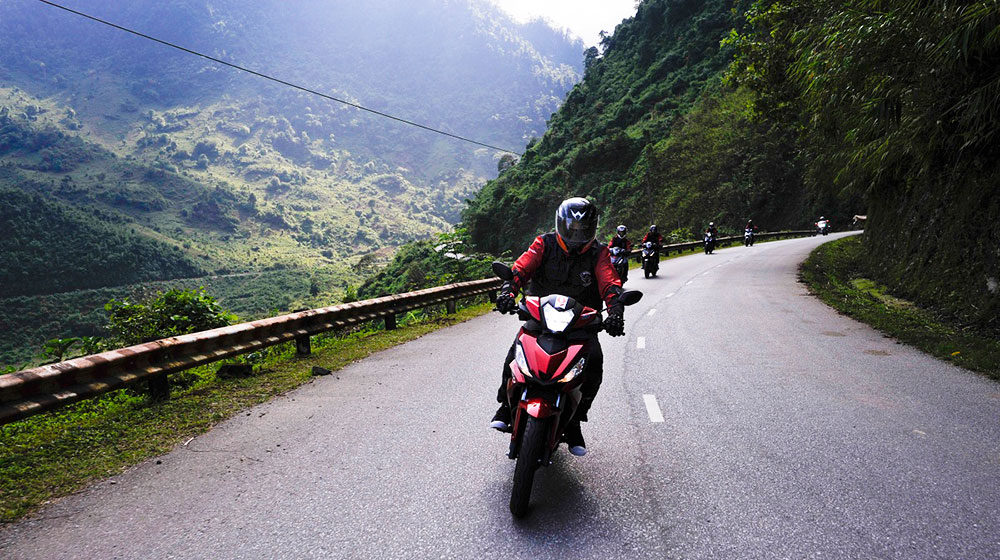 Cảm nhận Honda Winner 150 về hành trình từ Hà Nội đến cực Tây 2