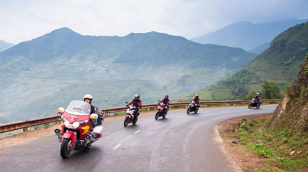 Cảm nhận Honda Winner 150 về hành trình từ Hà Nội đến cực Tây 3