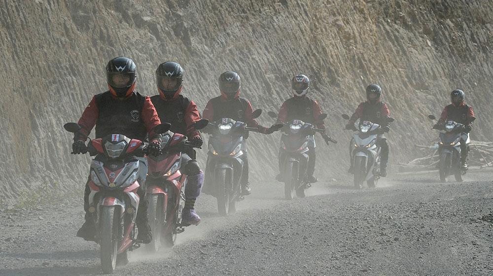 Cảm nhận Honda Winner 150 về hành trình từ Hà Nội đến cực Tây 5