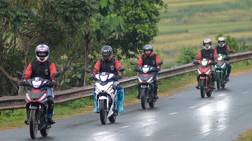 Cảm nhận Honda Winner 150 về hành trình từ Hà Nội đến cực Tây 7