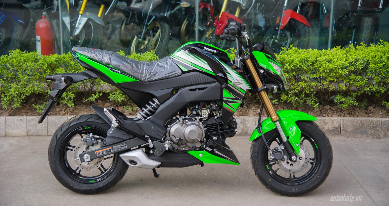 Kawasaki Z125 Pro Krt 2017 Về Việt Nam Giá Hơn 80 Triệu đồng