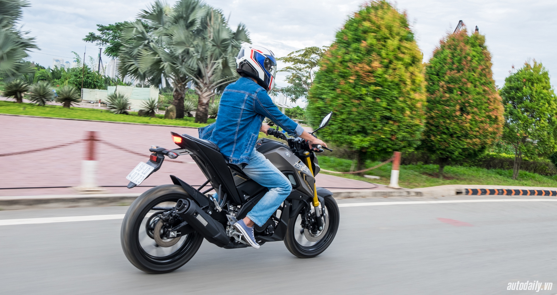 Cảm nhận về khả năng vận hành xe Yamaha TFX150 qua thực tết lái 9