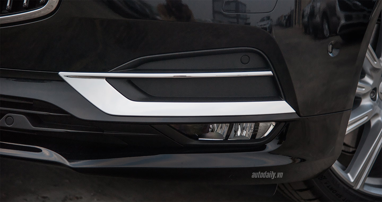 Cận cảnh nội ngoại thất Volvo S90 2017 giá hơn 2 tỷ đồng tại Hà Nội