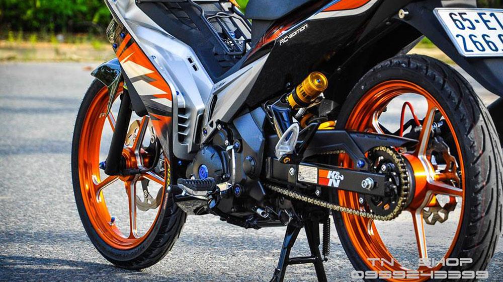 Mãn nhãn Yamaha Exciter 135 đời 2009 độ trị giá 100 triệu của tại Cần Thơ-4.jpg