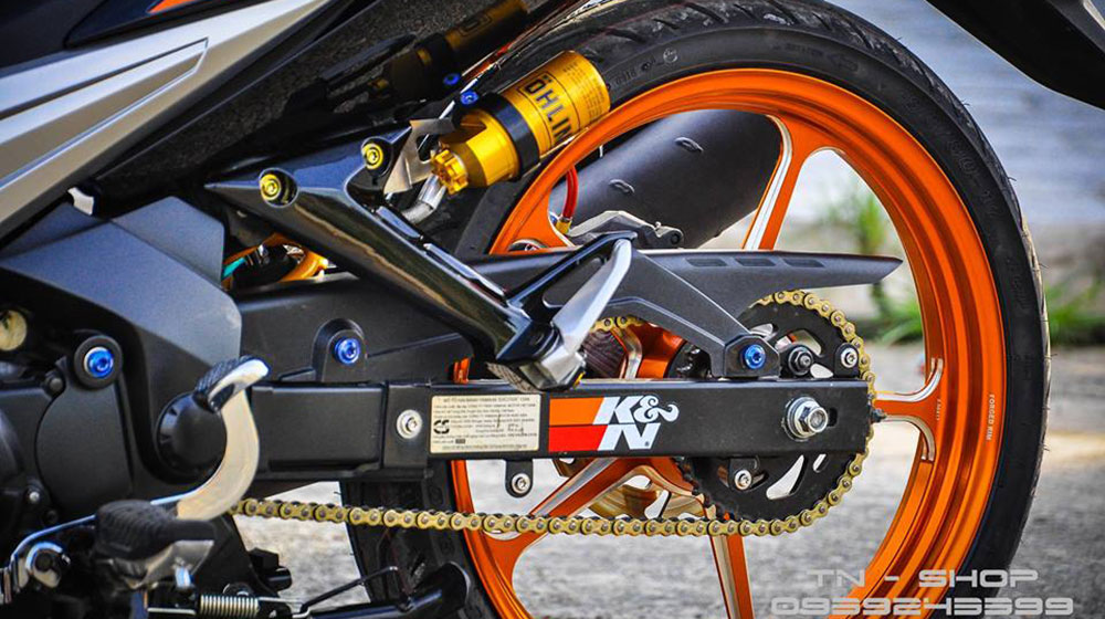 Mãn nhãn Yamaha Exciter 135 đời 2009 độ trị giá 100 triệu của tại Cần Thơ-5.jpg