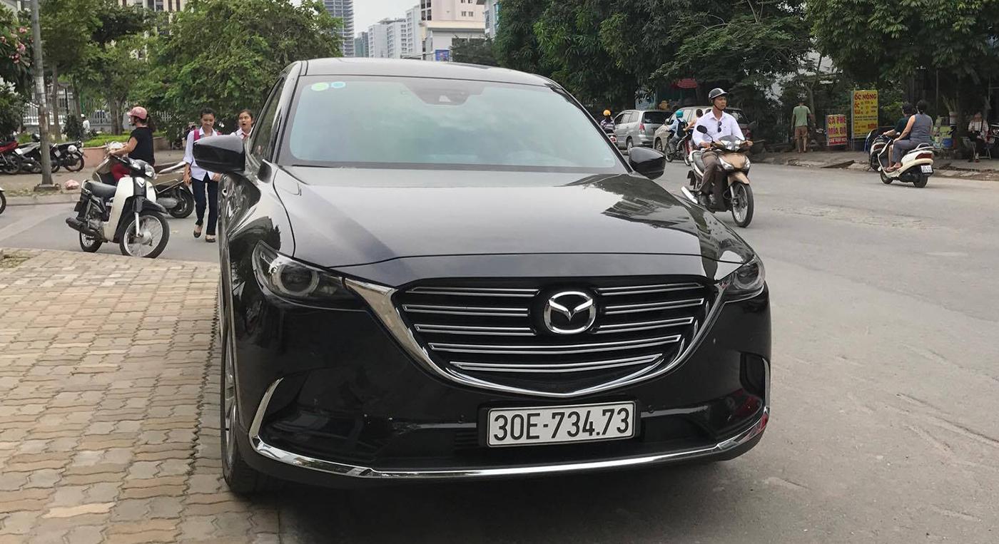 Mazda CX-9 thế hệ mới lăn bánh tại Việt Nam