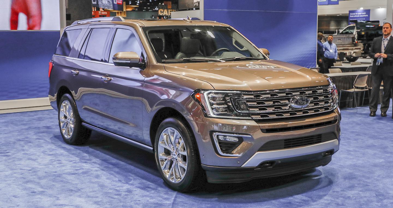 Ford công bố giá bán của Expedition 2018, bắt đầu từ 52 ...