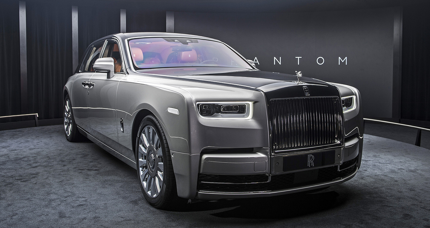 ng m k si u ph m rolls royce phantom 2018 v a ra m t. Black Bedroom Furniture Sets. Home Design Ideas