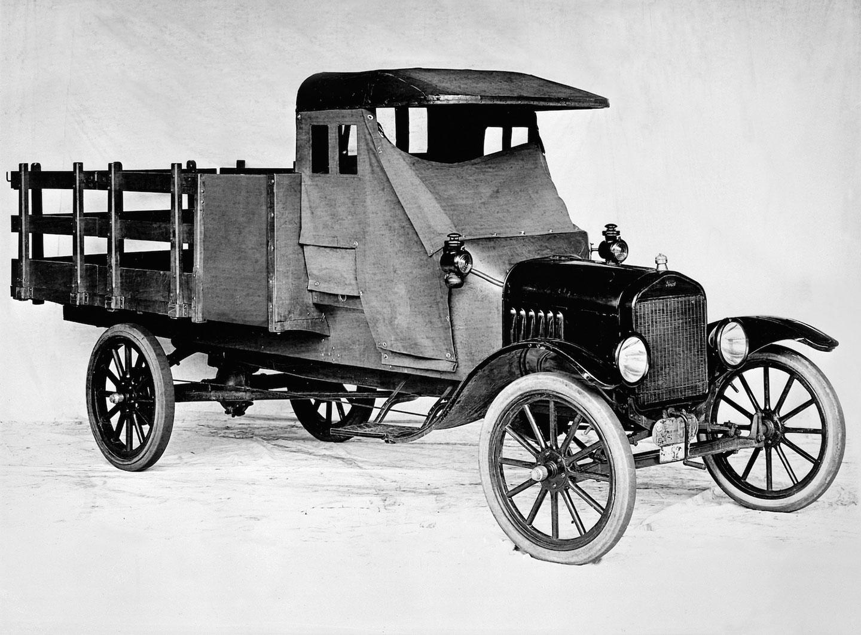 Lịch sử ít người biết về những chiếc xe tải của Ford