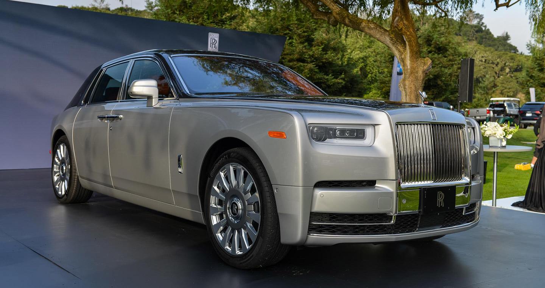 Vẻ đẹp hút hồn của Rolls-Royce Phantom 2018 tại Monterey Car Week2017 - ảnh 3