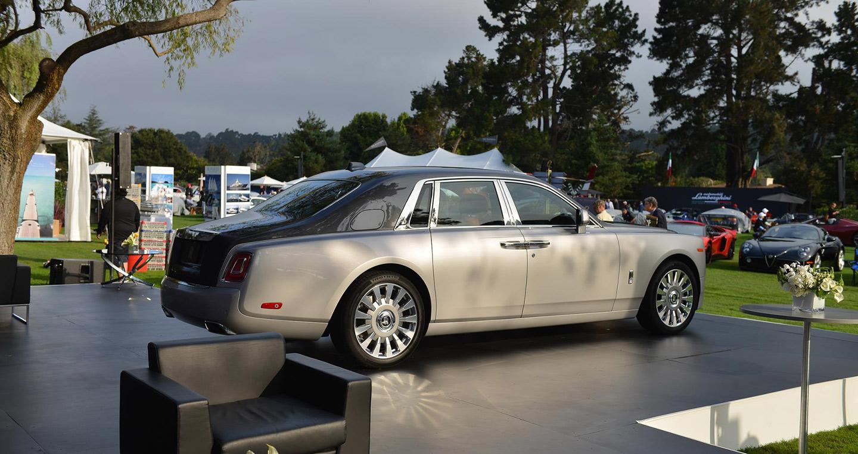 Vẻ đẹp hút hồn của Rolls-Royce Phantom 2018 tại Monterey Car Week2017 - ảnh 2