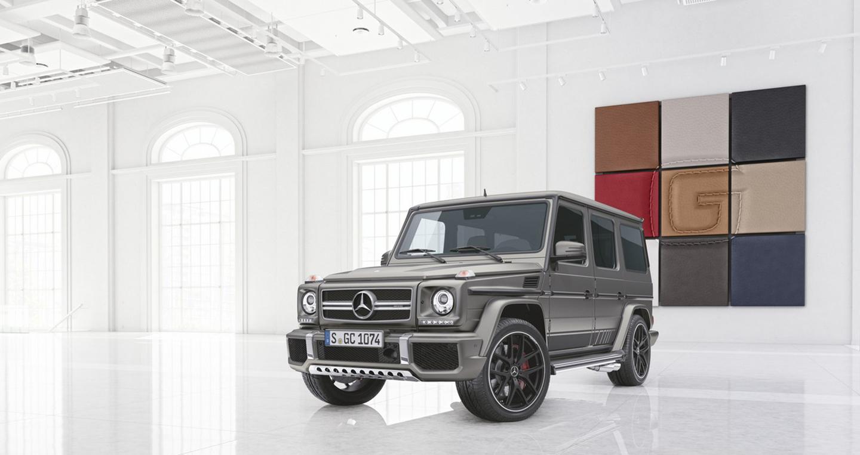 Mercedes giới thiệu G63 và G65 bản đặc biệt, giá từ 193.458 USD