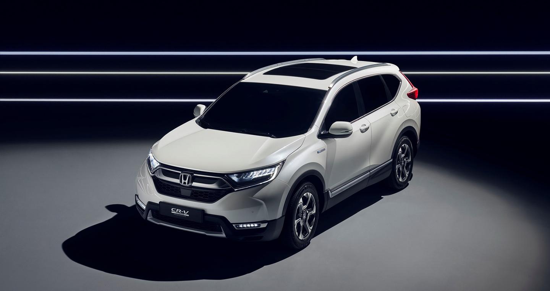 Honda CR-V ra mắt bản Hybrid 2018