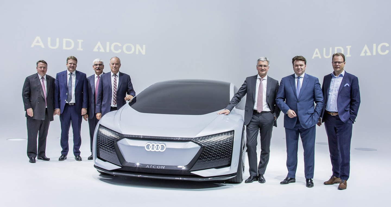 Ngạc nhiên với mẫu xe tự hành tương lai Audi AICON