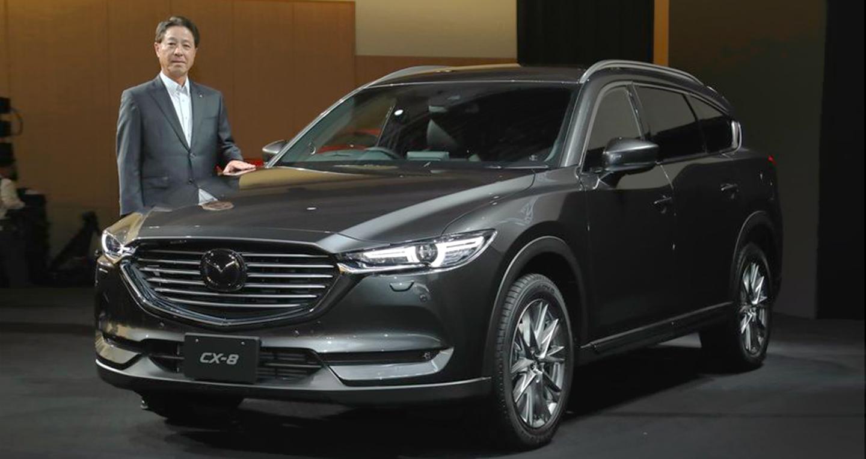 Mazda CX-8 hoàn toàn mới chính thức ra mắt, giá từ 28.970 USD
