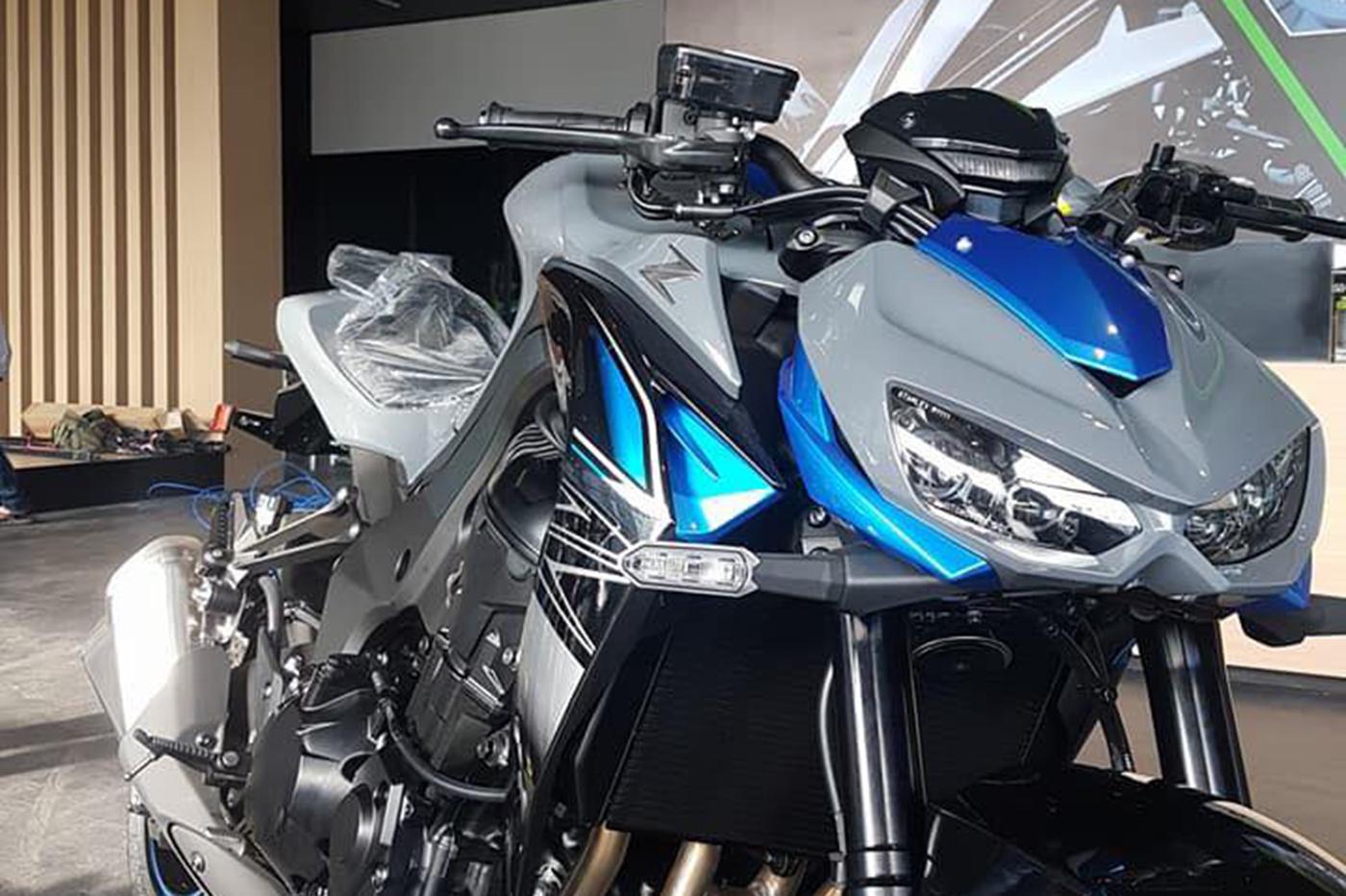 Kawasaki Z1000 2018 đ 227 C 243 Mặt Tại Việt Nam Gi 225 399 Triệu đồng