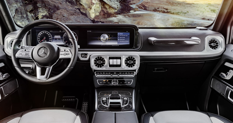 Ảnh Chi Tiết Mercedes Benz G Class 2019