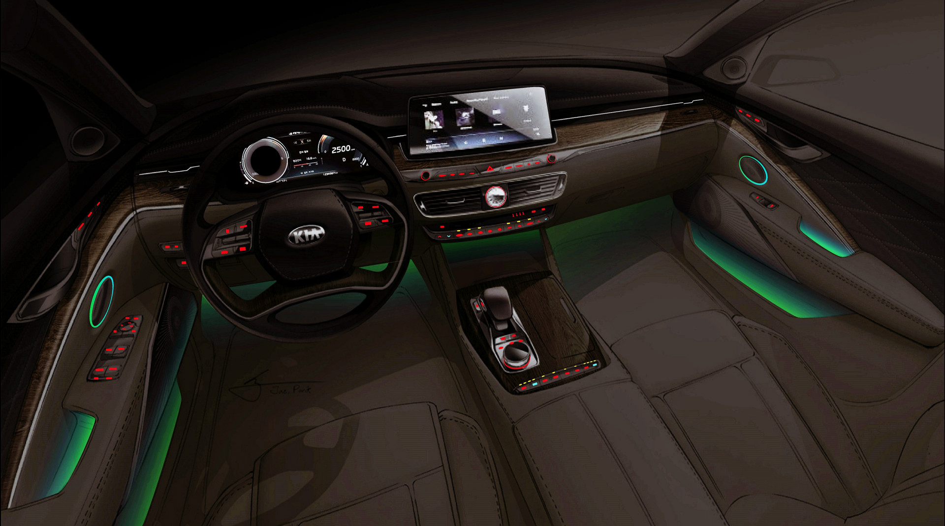 Kết quả hình ảnh cho KIA K900 New York Auto Show