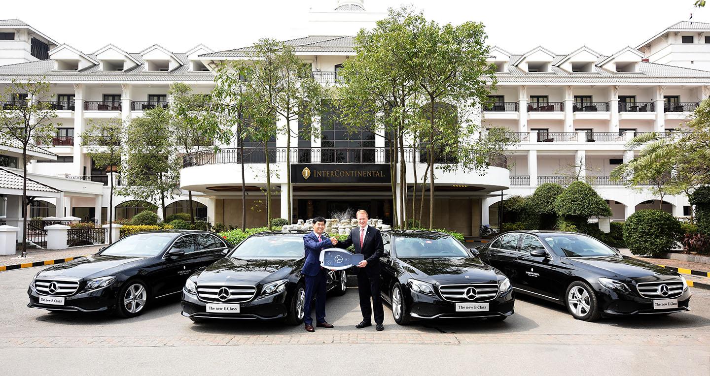 B n giao 4 xe mercedes e class cho kh ch s n 5 sao for Mercedes benz westlake