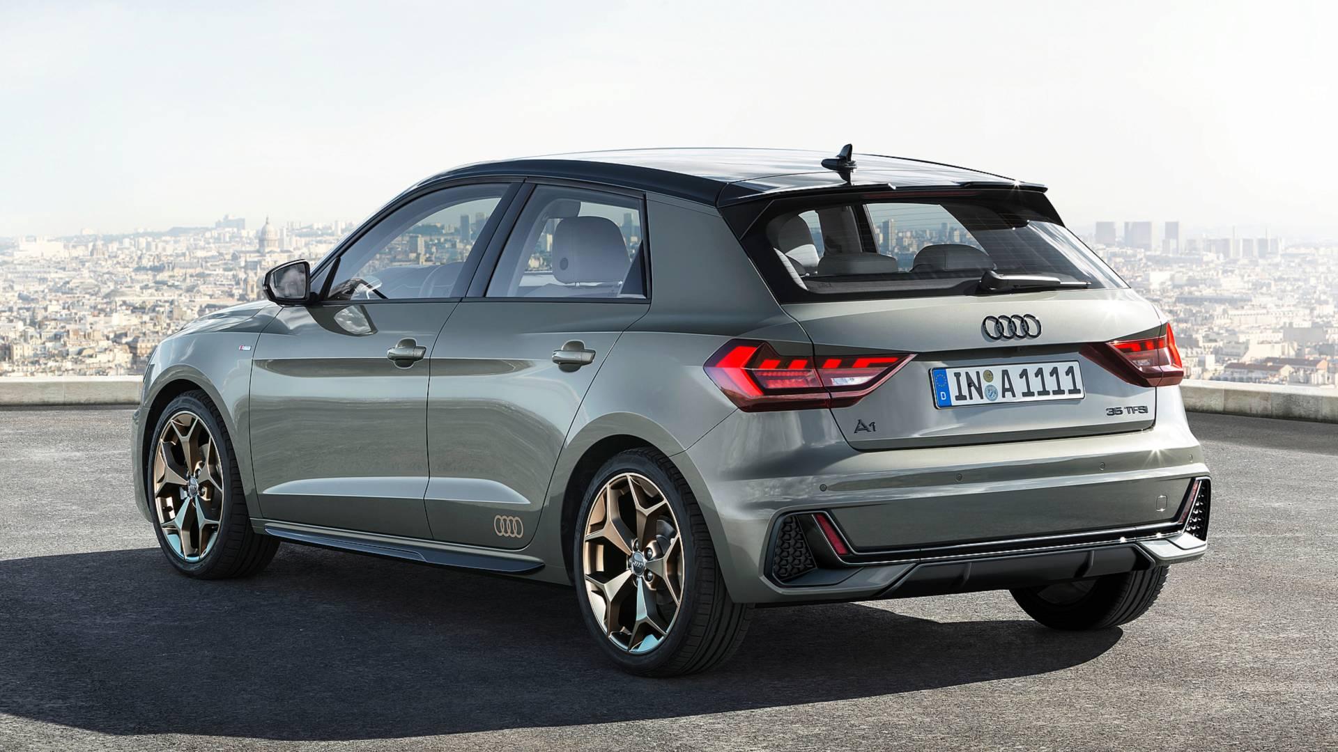 đầu tư giá trị - 2019 audi a1 sportback 1 - Audi A1 Sportback 2019 lộ diện, kiểu dáng cá tính, công suất 200 mã lực