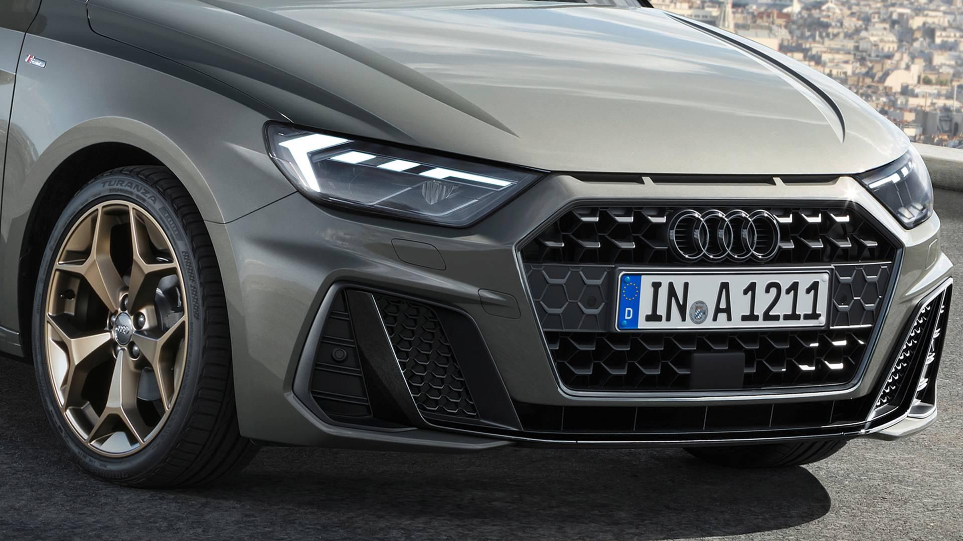 đầu tư giá trị - 2019 audi a1 sportback 2 - Audi A1 Sportback 2019 lộ diện, kiểu dáng cá tính, công suất 200 mã lực