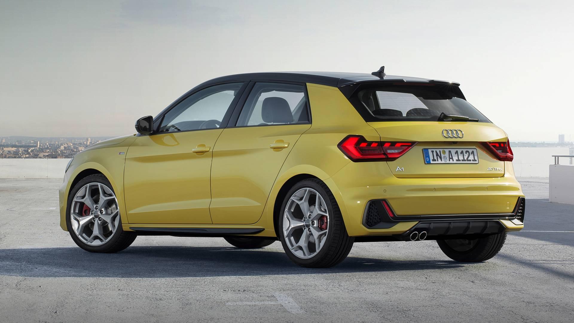 đầu tư giá trị - 2019 audi a1 sportback 4 - Audi A1 Sportback 2019 lộ diện, kiểu dáng cá tính, công suất 200 mã lực