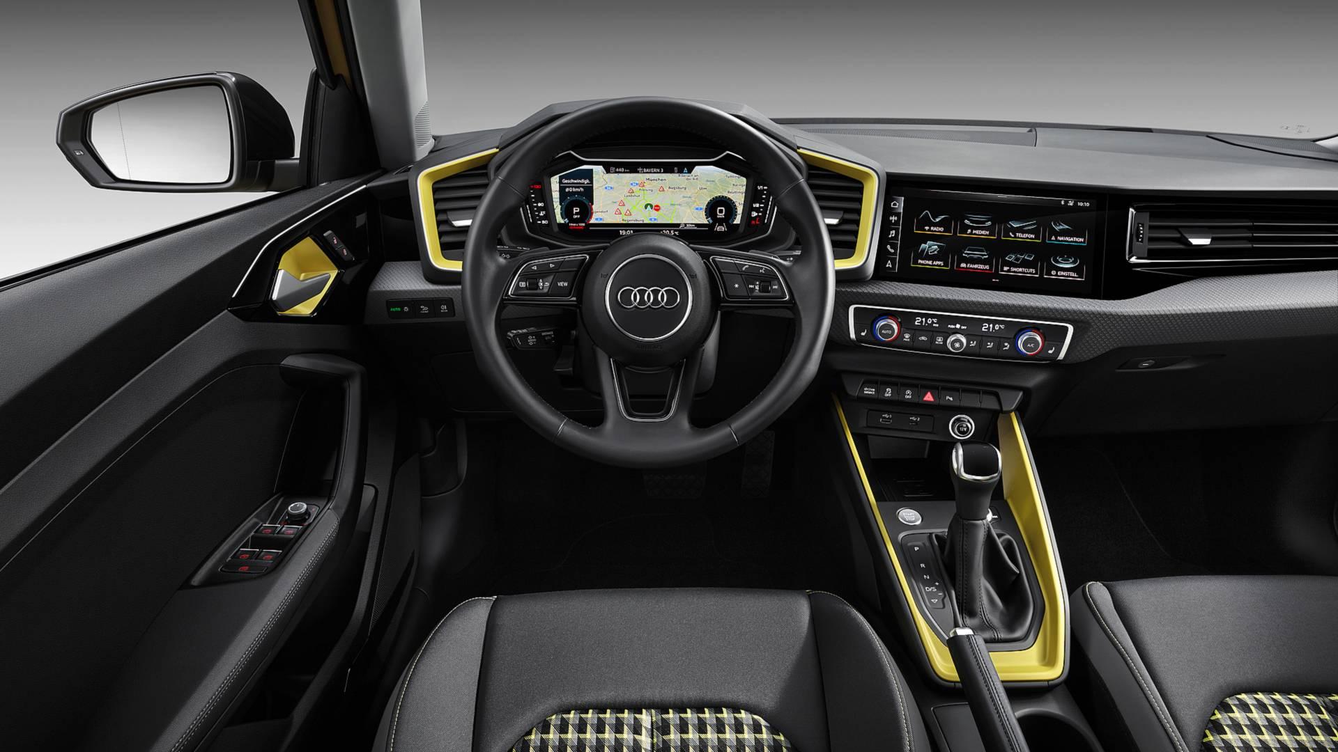 đầu tư giá trị - 2019 audi a1 sportback 8 - Audi A1 Sportback 2019 lộ diện, kiểu dáng cá tính, công suất 200 mã lực