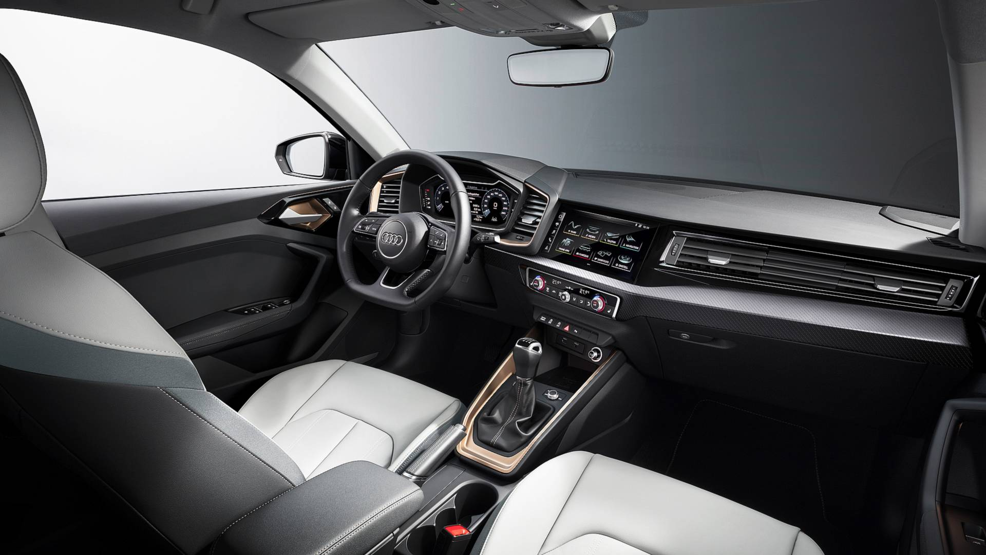 đầu tư giá trị - 2019 audi a1 sportback 9 - Audi A1 Sportback 2019 lộ diện, kiểu dáng cá tính, công suất 200 mã lực