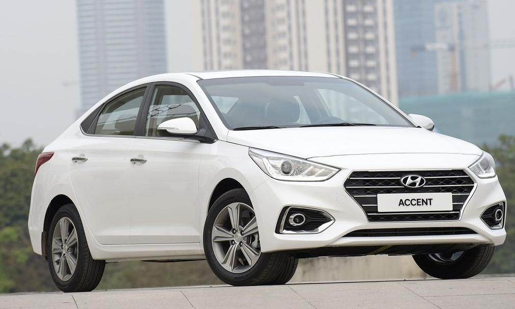 Hyundai-accent-2018 vẫn hấp dẫn bởi kiểu dáng sexy