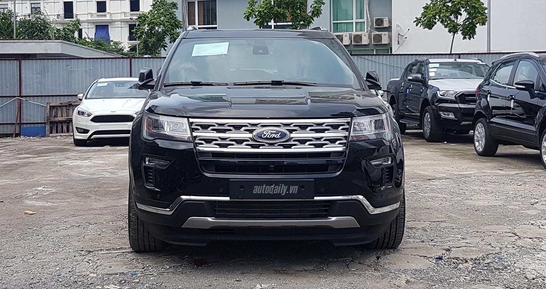 Ford Explorer Limited 2018 âm thầm bán ra tại VN, giá 2,2 tỷ