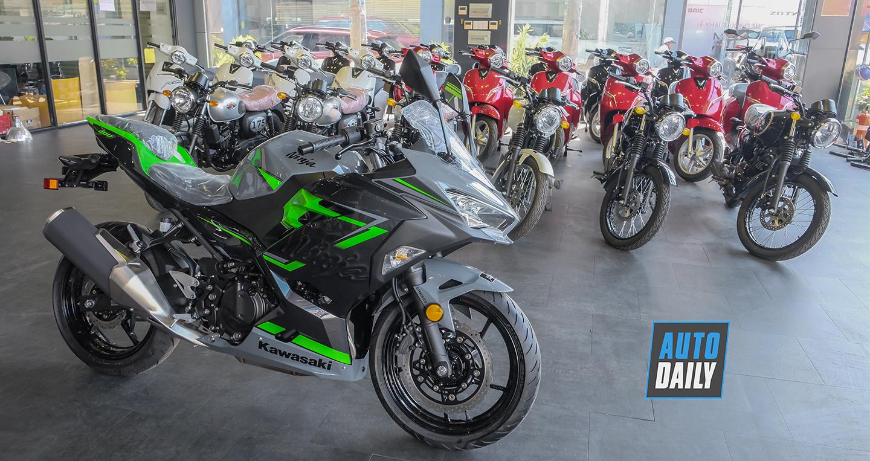Kawasaki Ninja 400 ABS 2019 về Việt Nam, giá từ 159 triệu