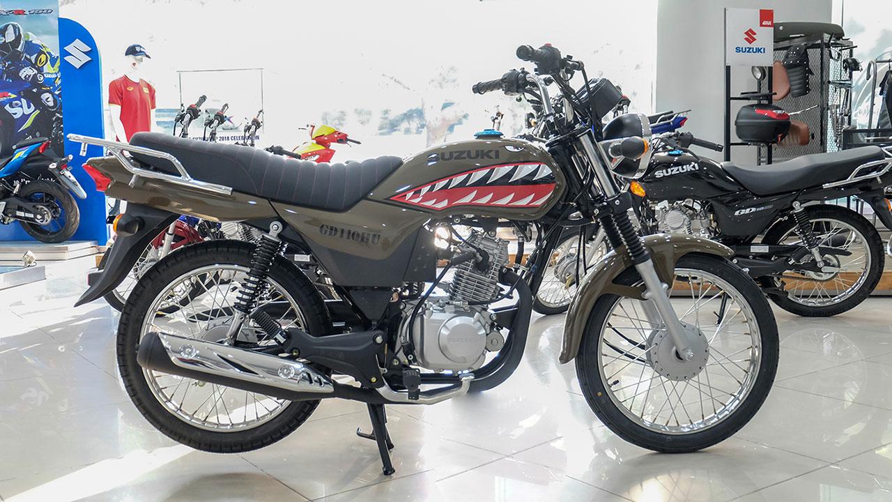 Ảnh chi tiết Suzuki GD110 phiên bản đặc biệt mới
