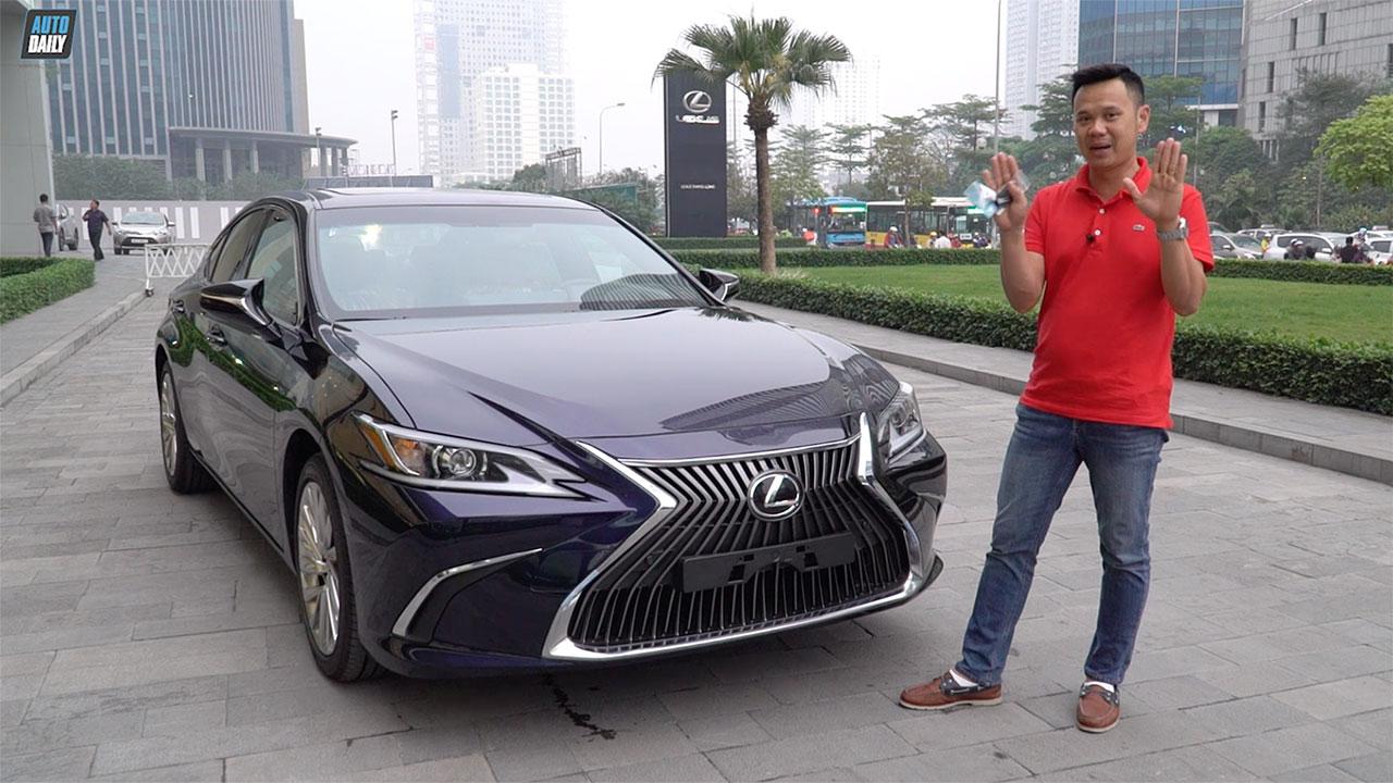 Đánh giá Lexus ES 250 2019 giá 2,5 tỷ đồng