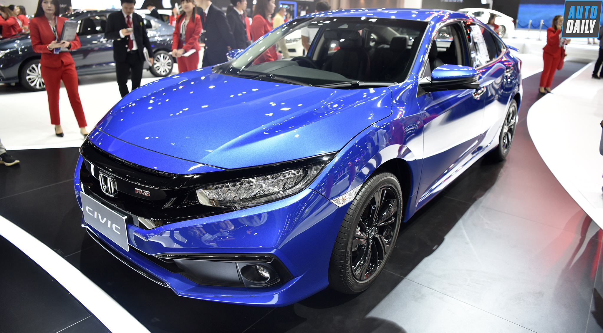Honda Civic Rs >> Preview Honda Civic Rs 2019 Is Open In Vietnam Neuck