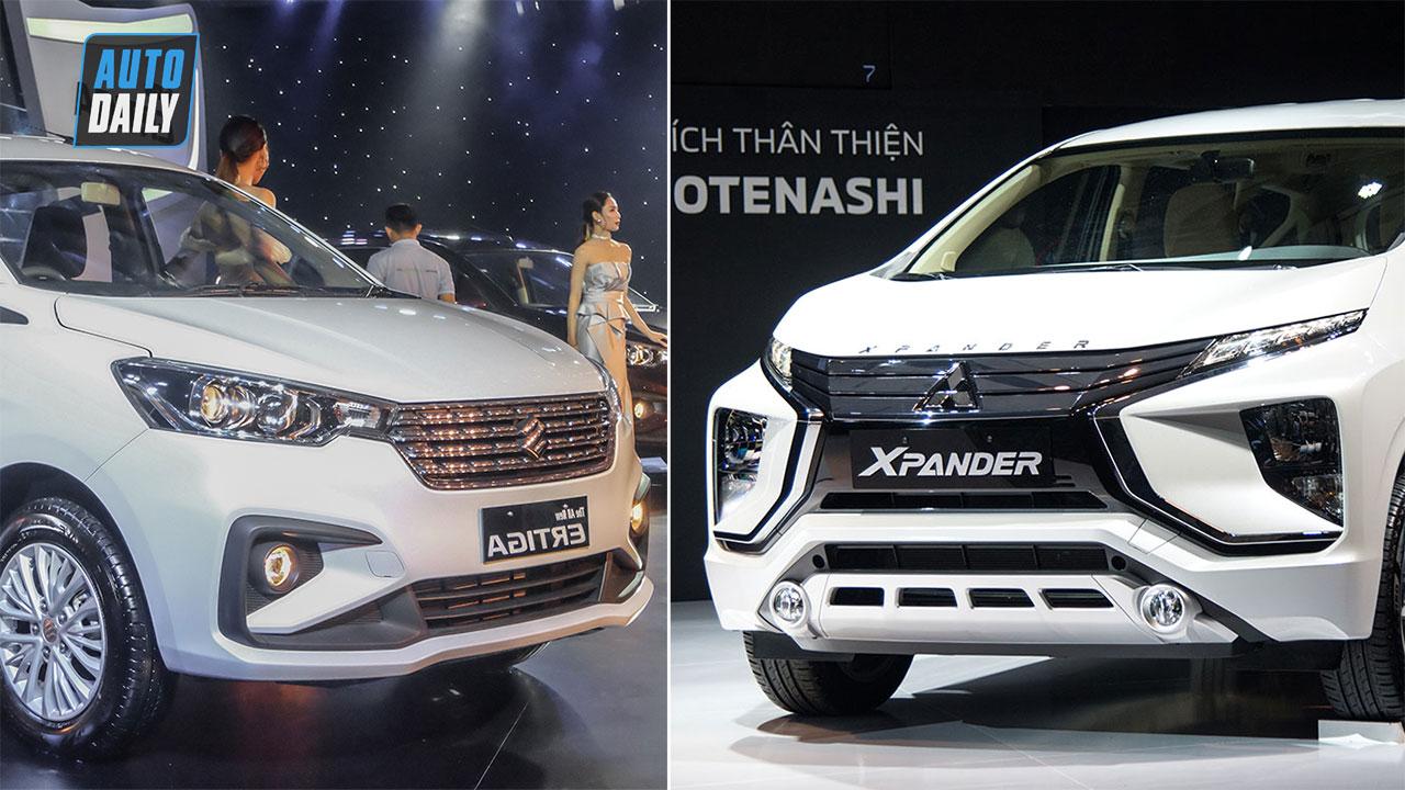 So sánh Suzuki Ertiga 2019 và Mitsubishi Xpander: Chọn mẫu