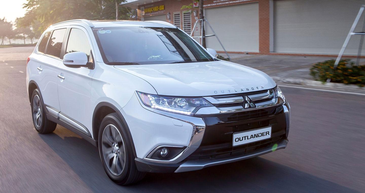 Mitsubishi Motors Việt Nam tung ưu đãi hấp dẫn cho mẫu Outlander
