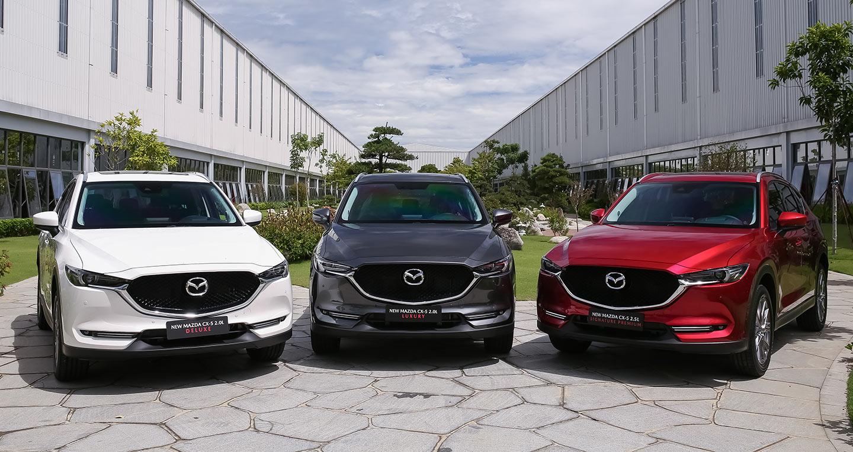 Giá lăn bánh Mazda CX-5 2019 bản nâng cấp