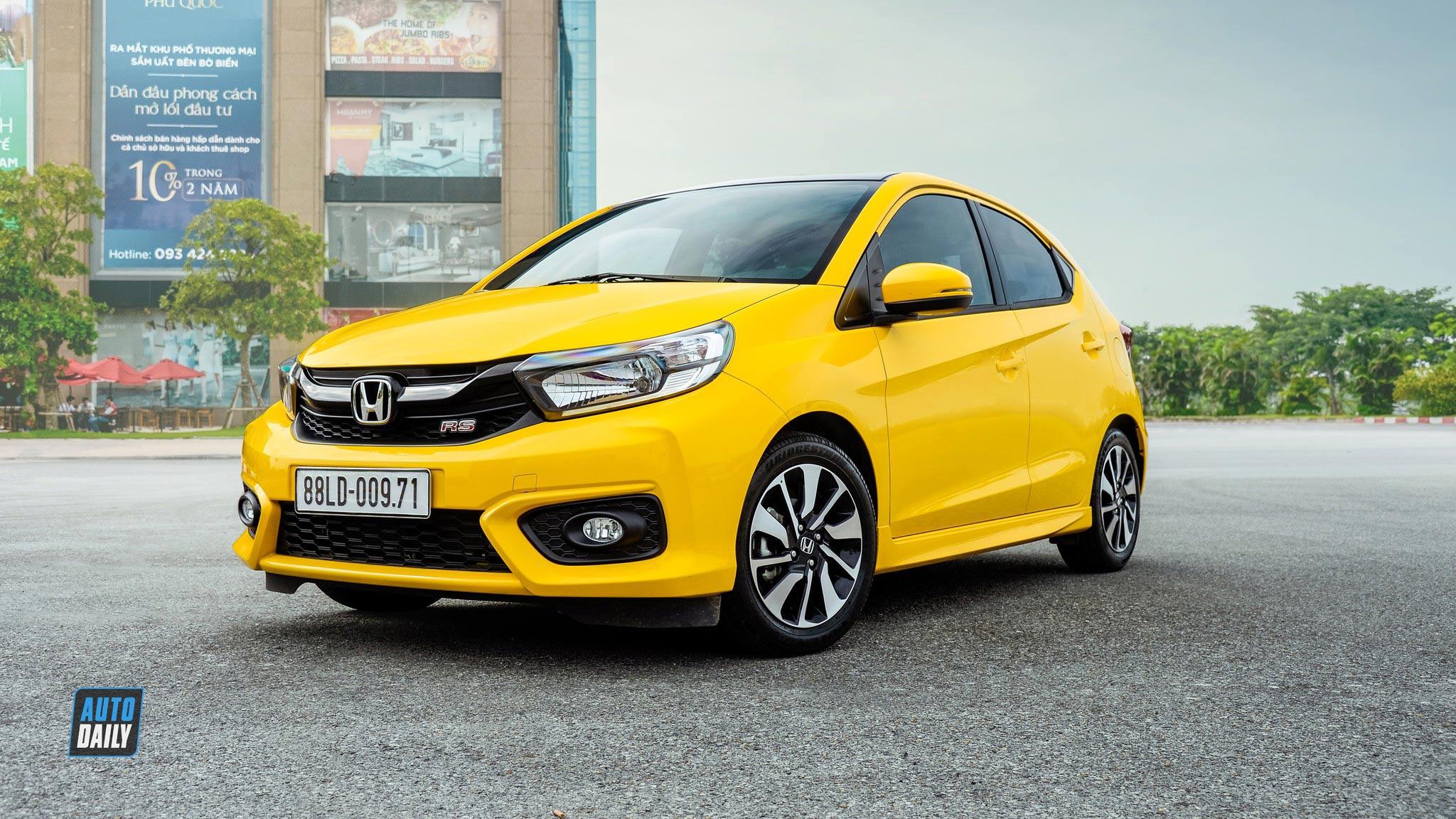 Giá xe Honda Brio 2020 màu vàng | Hotline: 0917 325 699