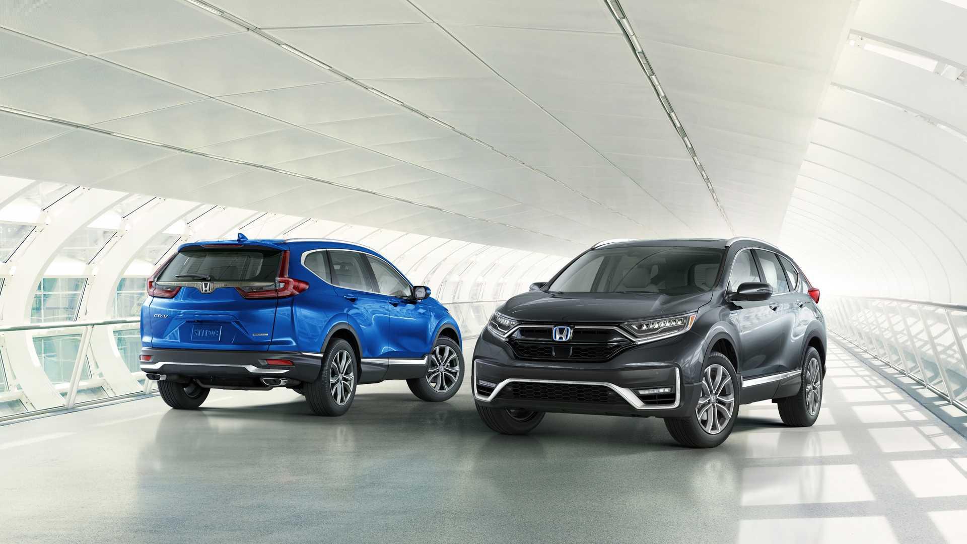 Honda CR-V 2020 ra mắt với kiểu dáng mới, thêm phiên bản hybrid