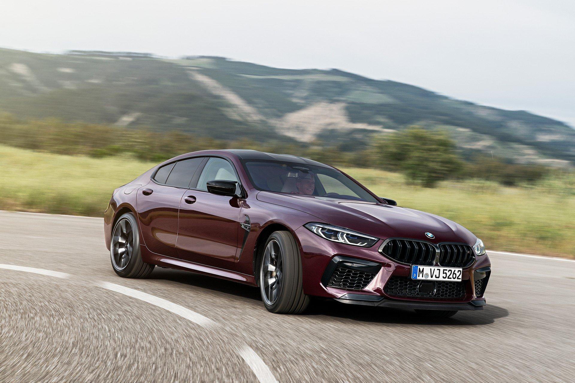 Siêu phẩm hiệu suất cao BMW M8 Gran Coupe trình làng, giá từ 130.000 USD