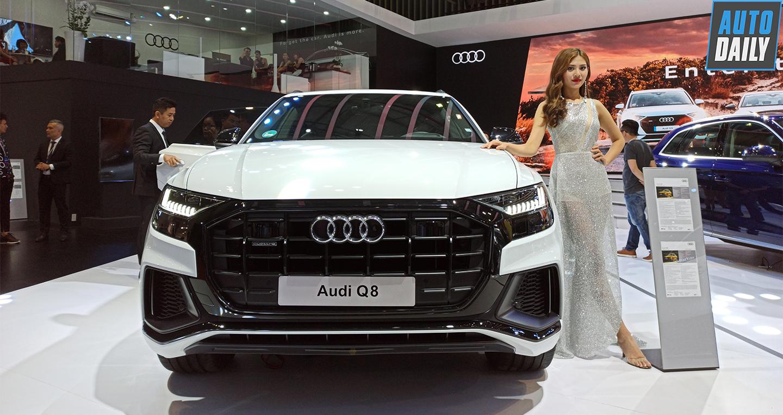Khám phá chi tiết Audi Q8 mới tại Triển lãm Ô tô Việt Nam 2019