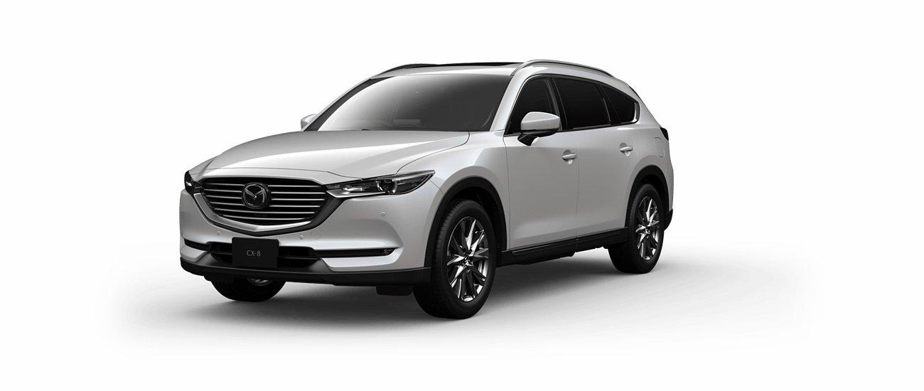 Mazda CX-8 2020 ra mắt với nhiều tính năng hơn, giá từ 27.153 USD