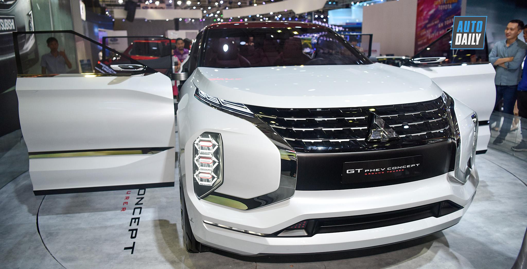 Chi tiết Mitsubishi GT-PHEV Concept tại Triển lãm Ô tô Việt Nam 2019