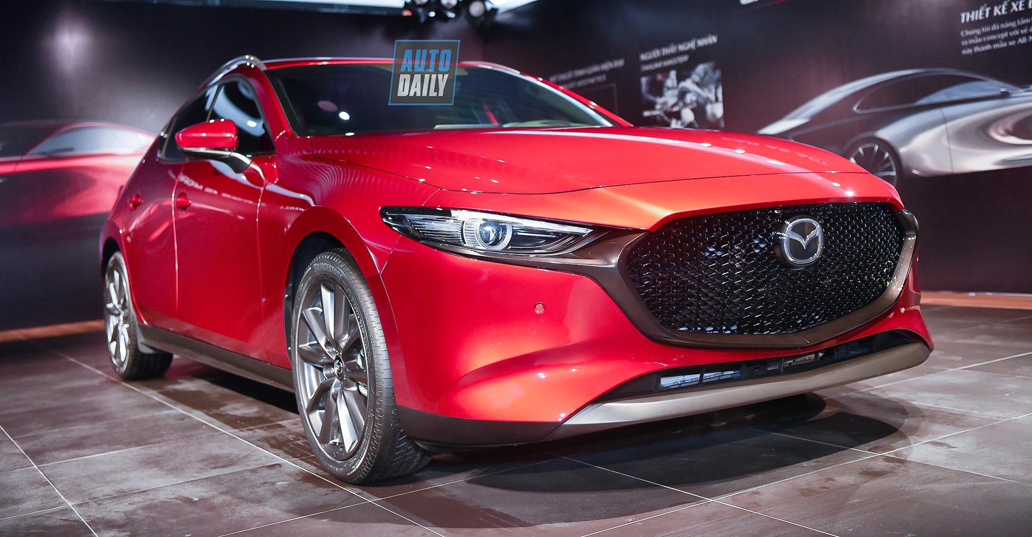 Mazda3 2019 được giới thiệu tại Việt Nam, chưa công bố giá bán