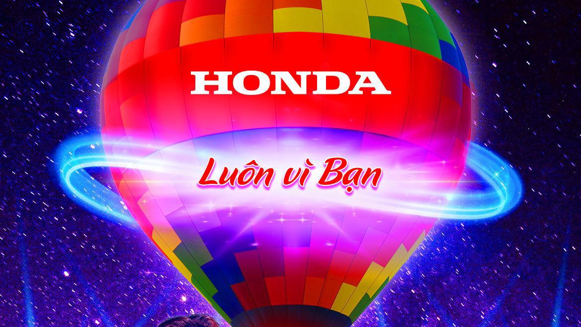 """Khởi động chuỗi sự kiện """"Đại nhạc hội Khinh khí cầu – Honda Luôn vì bạn"""""""