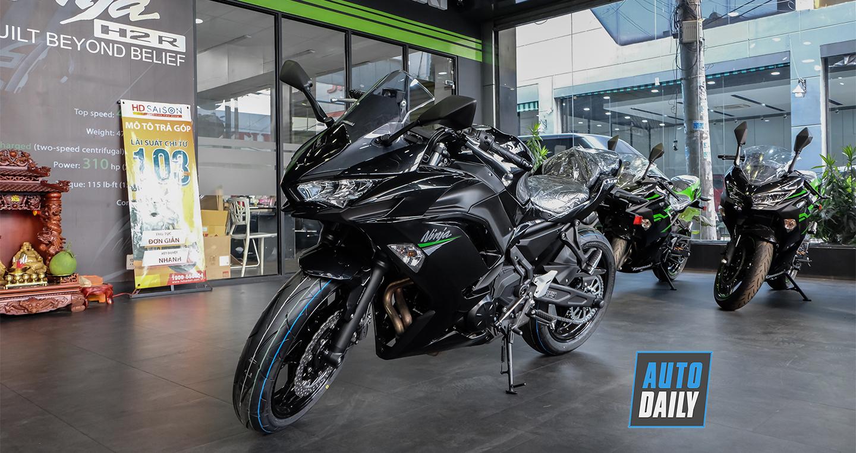 Cận cảnh Kawasaki Ninja 650 ABS 2020, giá từ 197 triệu đồng tại VN